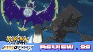 Necrozma VS Lunala! Nebby Returns! | Pokemon Sun And Moon Anime Episode 88 Review