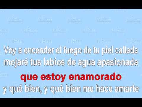 Estoy Enamorado- Karaoke  - Thalia ( Donato Y Estefano ) video