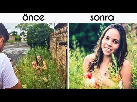 Photoshop'un Fotoğraftan Daha Önemli Olduğunu Gösteren 15 Kare
