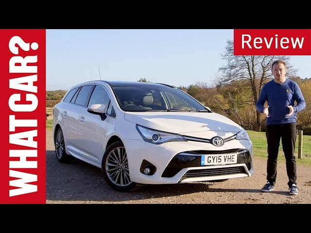 Toyota Avensis review - What Car? - YouTube