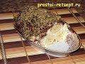 Творожный десерт «Бананы под шубой»