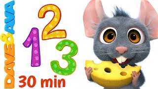 🔥Learn Numbers and Counting   Count 1 to 10   Nursery Rhymes & Kids Songs from Dave and Ava 🔥