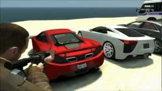 GTA 4 Mega Car Pack v2.2 Elite Edition 2012 + Download link! Part (1/4)