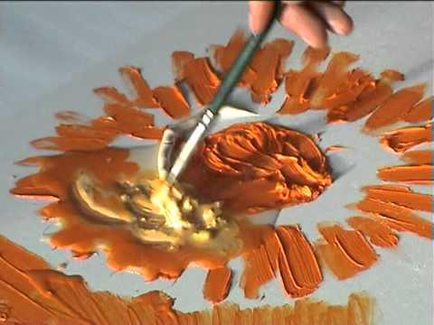 Видео как рисовать красками