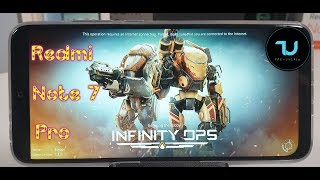 Redmi Note 7 Pro Infinity Ops Last version/Ultra High Max setings 60FPS/Snapdragon 675/Android 9