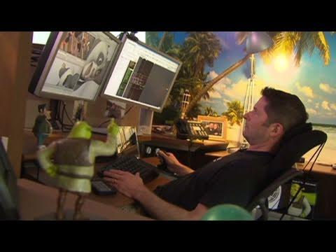 Inside DreamWorks' studio
