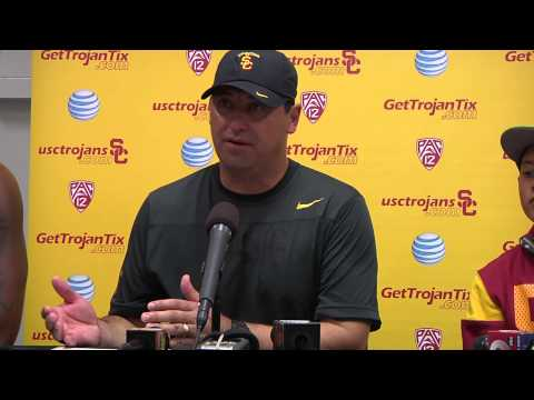 USC Football - Arizona Post Game Press Conf