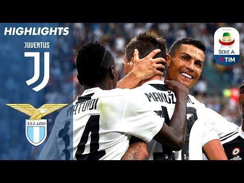 Juventus 2-0 Lazio | Ronaldo Assist in Juventus Win | Serie A