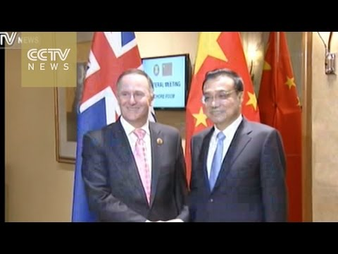 Chinese Premier Li meets PMs from India, Australia, Laos, New Zealand