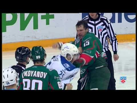 Бой КХЛ: Свитов VS Рыспаев / KHL Fight: Svitov VS Ryspayev