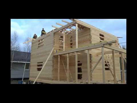 Срубы домов под усадку - Должен ли дом давать усадку?