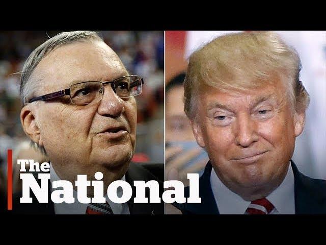 Trump's pardon of Joe Arpaio deepens Republican party divide