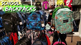 Back TO SCHOOL SHOPPING BACKPACKS JCPENNY WALK THROUGH JULY 2018