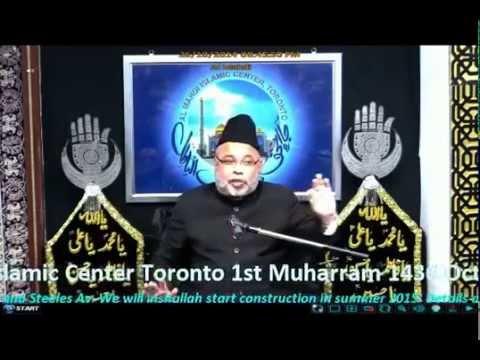 Majlis 02 - Maulana Sadiq Hasan - 1st Muharram 1436 - 2014 video
