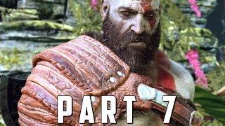 GOD OF WAR Walkthrough Gameplay Part 7 - LAKE OF NINE (God of War 4)