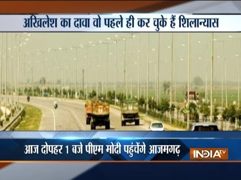 UP: SP, BJP squabble over Purvanchal Expressway project which PM Modi will launch today