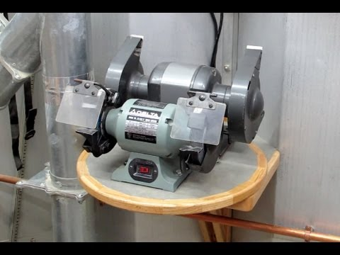 Bench Grinder 2 For 1 Mount Youtube