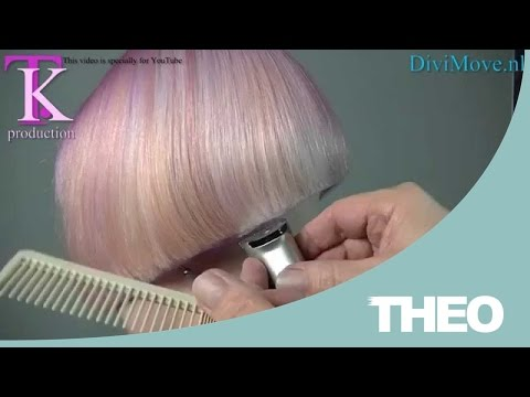 Blunt trendy clipper cut bob, shaved nape in a sexy trendy color  Rosan by T K