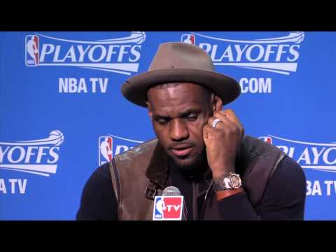 What LeBron James said after Game 2 as Cleveland Cavaliers beat Boston Celtics