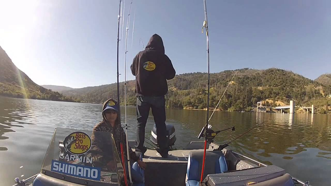 Trolling silverwood lake for striper youtube for Silverwood lake fishing report