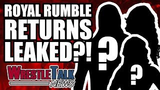 SHOCK ROYAL RUMBLE 2018 RETURNS LEAKED?! | WrestleTalk News Jan. 2018