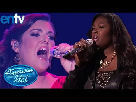 Candice Glover VS Kree Harrison Finale - American Idol Season 12