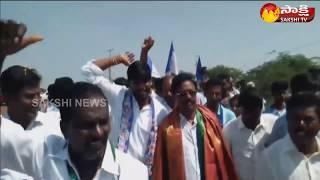 YSRCP Leader koneti adhimulam participates in sangibava yatra at Tirupati