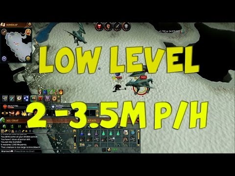 RuneScape 3 LOW LEVEL Frost Dragons Guide 2m – 3.5m + per hour 2014 Commentary P2p EoC