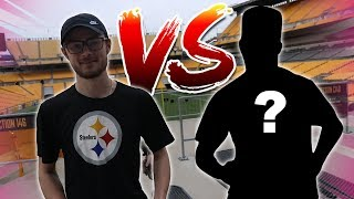 THE STEELERS INVITED ME TO HEINZ FIELD FOR THE CRAZIEST 1VS1!!