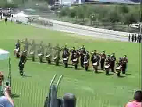 banda de guerra centinelas