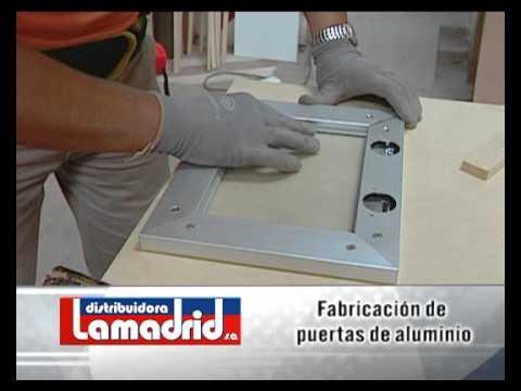 Distribuidora lamadrid servicio de fabricaci n de for Fabrica de puertas de aluminio