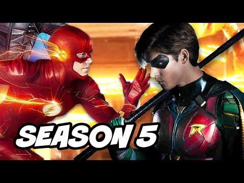 The Flash Season 5 Confirmed - Titans TV Show DCTV 2018 Preview thumbnail
