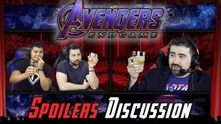 Avengers: Endgame Spoilers Discussion!