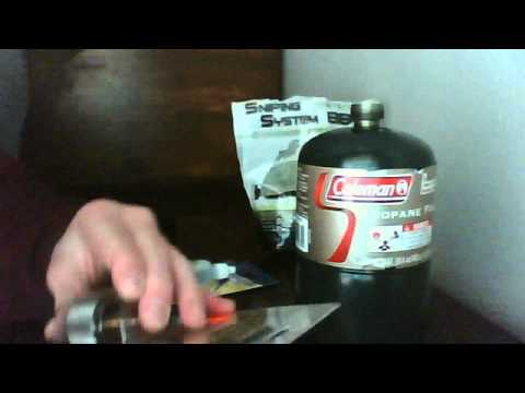 How to use propane with a green gas airsoft gun!