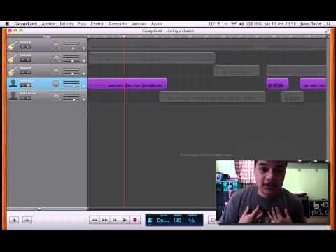 Tutorial GarageBand y Home Recording - grabación de voces y batería