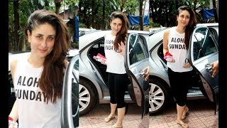 Kareena Kapoor Spotted Outside Gym On Her Birthday