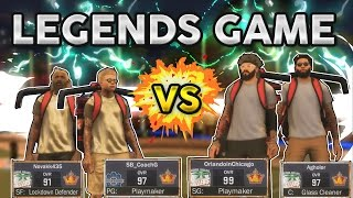 NBA 2K17 2v2 ONLY LEGENDS - BIGGEST GAME OF THE YEAR
