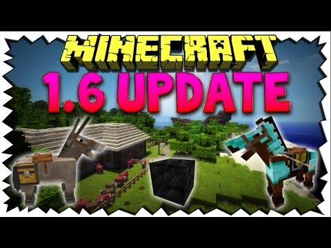 Minecraft 1.6 UPDATE REVIEW - CHANGELOG & DOWNLOAD