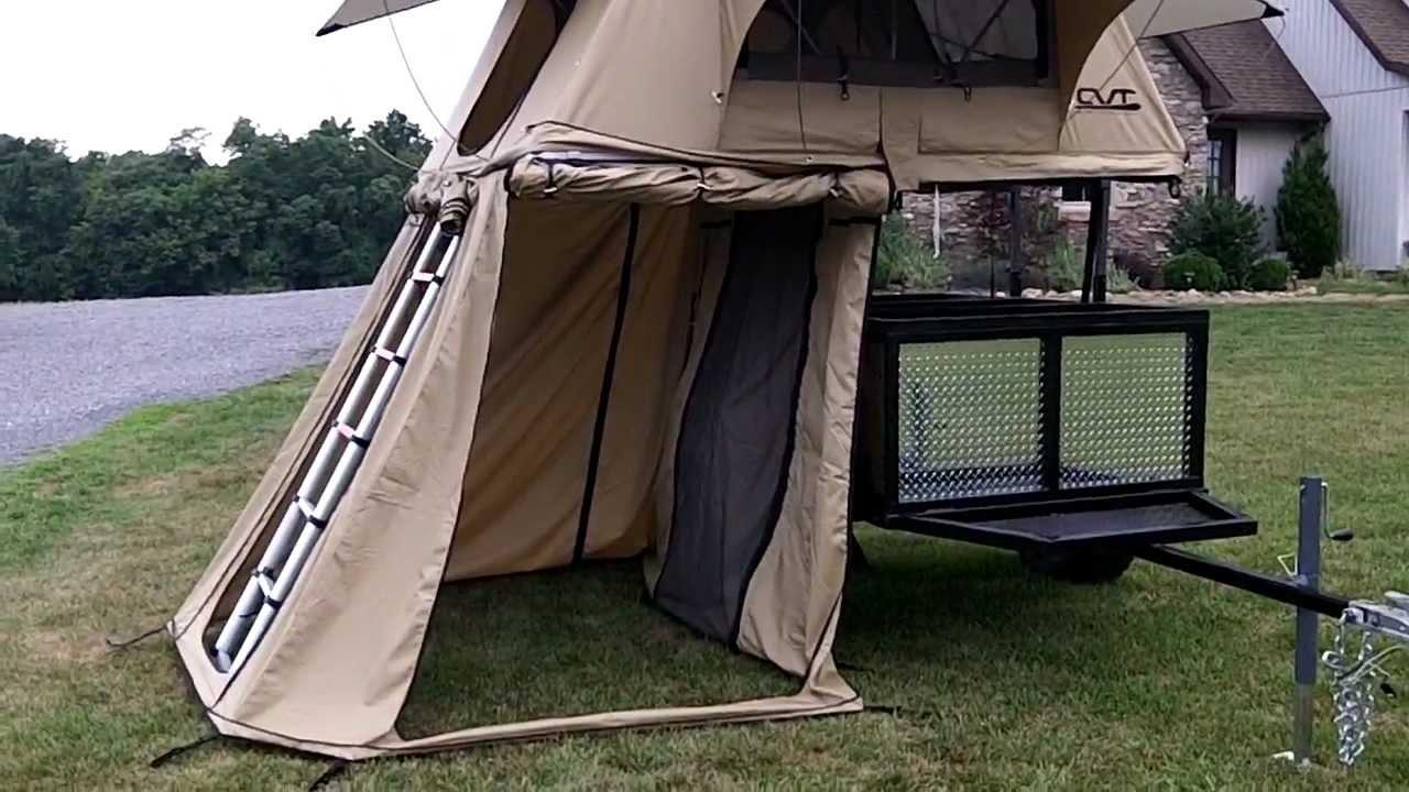 New Cvt Roof Top Tent Walk Around Youtube