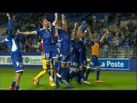 SC Bastia - ESTAC Troyes (3-2) - Highlights (SCB - ESTAC)