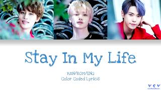 Taeil, Taeyong, Doyoung (NCT) - Stay In My Life (Han/Rom/Eng Lyrics)