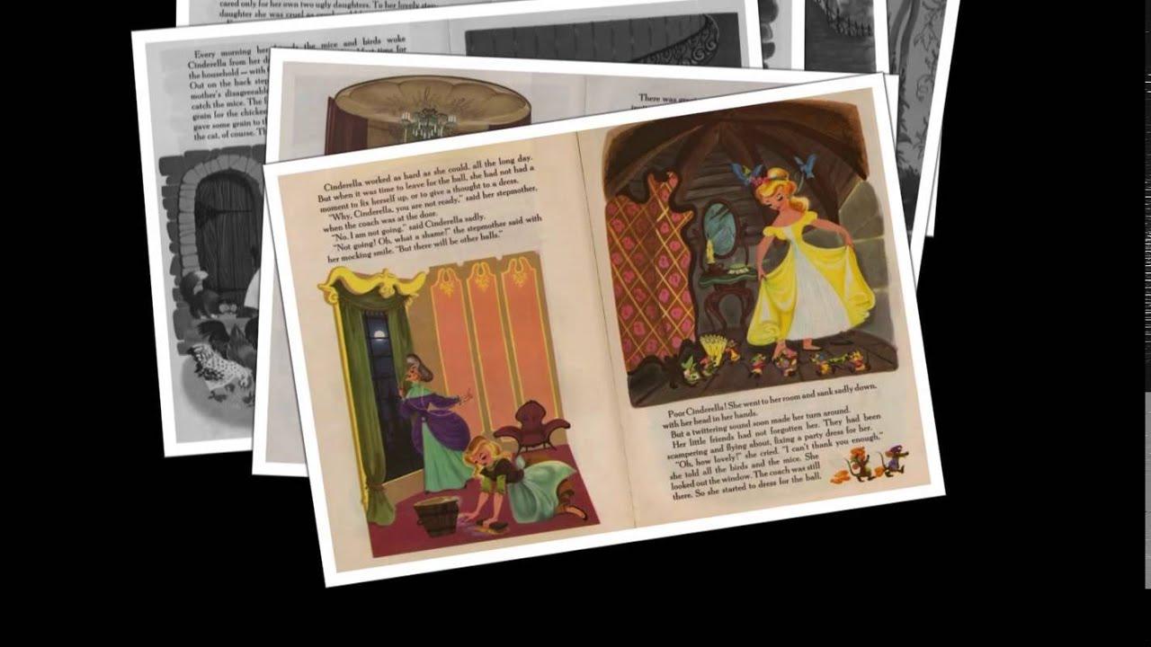 Golden Cinderella Cinderella Golden Book