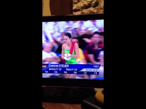 OLYMPICS 2012 commentator cracking racist joke!? [HD]
