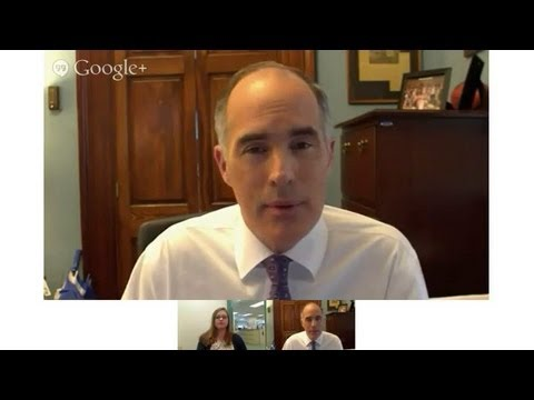 Chat with Senator Bob Casey [May 23, 2013]
