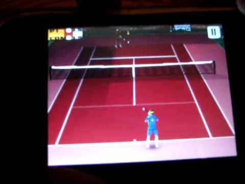 How to play Cross court tennis 3D on galaxy y or any QVGA device (tutorial) free download!!