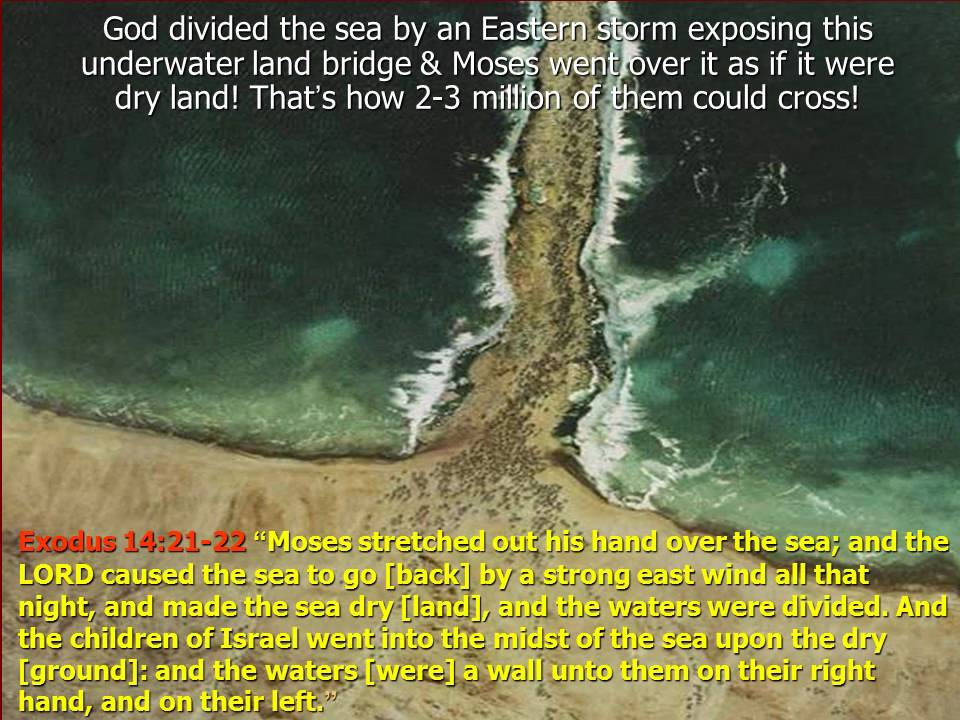 quotes from crossing the red sea The crossing of the red sea is part of the biblical narrative of the exodus, the  escape of the israelites, led by moses, from the pursuing egyptians in the book of .