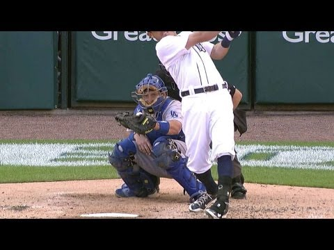 LAD@DET: Kinsler drives an RBI single off Ryu