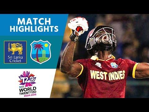 ICC #WT20 - Sri Lanka vs West Indies -  Match Highlights