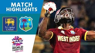 ICC #WT20 - Sri Lanka vs West Indies -  Match Highlights