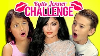 Kids React to Kylie Jenner Lip Challenge